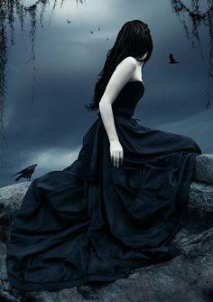 Fallen Art (Fallen Series by Lauren Kate) Dark Fantasy Art, Dark Gothic Art, Fantasy Magic, Dark Art, Lauren Kate, Dark Beauty, Gothic Beauty, Gothic Images, Gothic Wallpaper