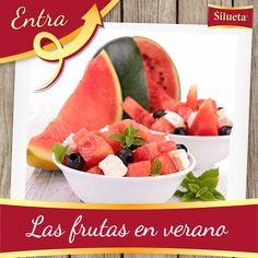 Las frutas en verano