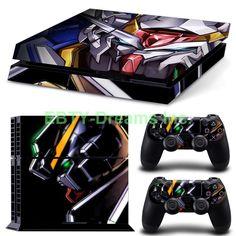 EBTY-Dreams Inc. - Sony Playstation 4 (PS4) - Gundam Mobile Suits Anime Mecha Vinyl Skin Sticker Decal Protector
