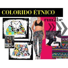 Confira o Colorido Étnico que saiu das passarelas direto para as academias www.run2be.com.br/roupas-de-ginastica-online/novidades-da-semana.html