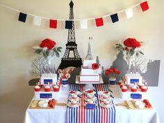 Una mesa preciosa para una fiesta Paris / A lovely table for a Paris party