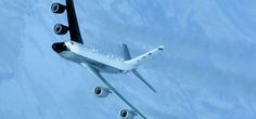 U.S. Air Force RC-135S Cobra Ball spy plane.