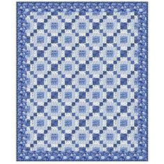 Stately Quilt Pattern by Lavender and Lace 74.5 x 90.5