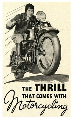 Motorcycle Madness! - 1935