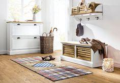 décoration scandinave tapis patchwork a carreaux et coeur