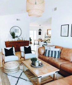 Your Guide to boho look living room exclusive on tanzaniahome.com
