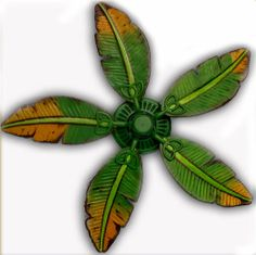 Palm leaf ceiling fan replacement blade fit on by baypointfans painted ceiling fan blades google search mozeypictures Choice Image