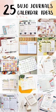 Simple Bullet Journal Monthly Calendar Examples For College Students - Bullet Journals With Dots #bulletjournaltitle #bulletjournaltemplate #weekliesbulletjournal