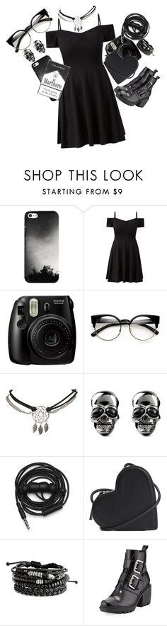 """*Laughs evily*"" by kawaiireborn ❤ liked on Polyvore featuring Casetify, Fujifilm, Wet Seal, Urbanears, Christopher Kane and Opening Ceremony"