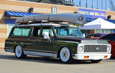Chevy Suburban at the Hot Rod Power Tour, shot by Slam'd Mag