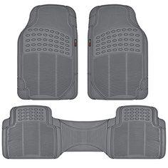 MotorTrend FlexTough Rubber Floor Mats for Car & SUV - BPA Free, 100% Odorless & All Weatherproof (Gray) - http://www.caraccessoriesonlinemarket.com/motortrend-flextough-rubber-floor-mats-for-car-suv-bpa-free-100-odorless-all-weatherproof-gray/  #100, #FlexTough, #Floor, #Free, #Gray, #Mats, #MotorTrend, #Odorless, #Rubber, #Weatherproof #Floor-Mats, #Interior