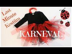 Last Minute Kostüm Marienkäfer | Tütü ohne nähen | Marienkäfer Kostüm | Karneval | Simply jessy - YouTube