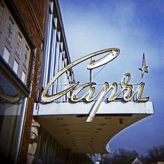 Capri Theatre, Lake CIty, Iowa. hometown :)