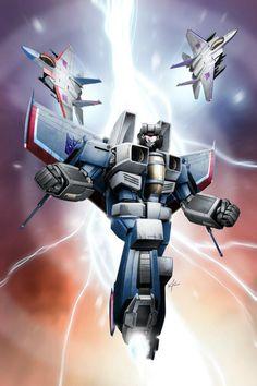Thundercracker - he was my first transformer.
