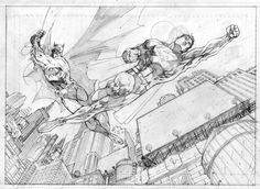 jim lee sketch - Google 検索