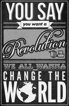 Revolution - The Beatles~ day 16 a son that you used to love but now hate.