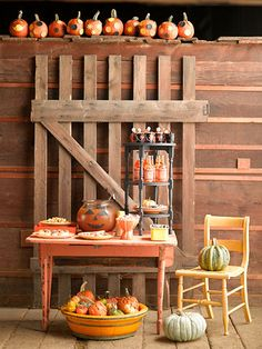 Throw a Carnival Halloween Party this year! More Halloween party ideas: http://www.bhg.com/halloween/parties/halloween-theme-parties/