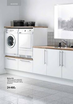 The Beauty of a Utility Room – House Viral Gossip Small Laundry, Laundry In Bathroom, Utility Room Storage, Laundry Room Inspiration, Small Room Bedroom, Laundry Room Design, Küchen Design, Modern Kitchen Design, Home Organization