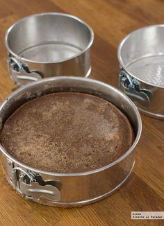 Os explicamos un truco para recalcular las medidas de los ingredientes de una tarta en función del tamaño del molde que tengáis y del molde de la receta