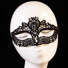 5 Pcs Máscaras Masque Máscara Black Lace Sexy Fashion Girls Feminino Cosplay Mascaras Superior Meia Face Máscaras Máscaras Venezianas(China (Mainland))