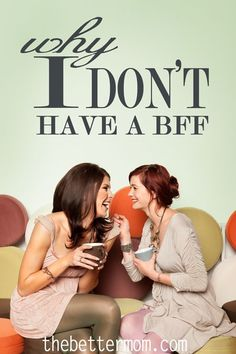 The idea of BFF's (best friends forever) rubs me the wrong way. I don't have a BFF, I don't want a BFF, and - aside from Jesus and your spouse - I really don't think you should have a BFF either. Read to find out why.