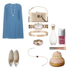 """Без названия #980"" by txmila on Polyvore featuring мода, Valentino, Chanel, Cartier, Christian Dior и Clarins"