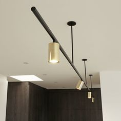Products — Giffin Design Linear Light Fixture, Linear Lighting, Track Lighting, Light Fixtures, Mobile Chandelier, Lamp Makeover, Fluorescent Lamp, Can Lights, Home
