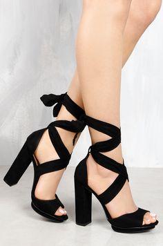 5094ad12587 Lola Shoetique - Scandalous - Black