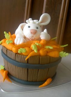 www.cakecoachonline.com - sharing....bunny rabbit in bucket