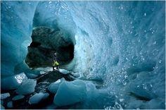 Sorprendentes cuevas de hielo en el glaciar Gorner | LaReserva