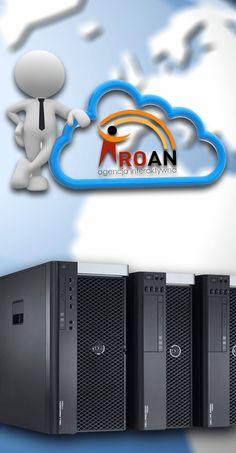 serwery dedykowane logo firmowe usługi seo optymalizacja apache mysql roan agencja interaktywna