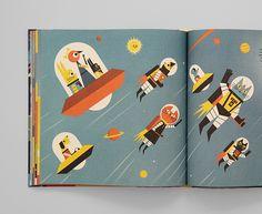 Profesor Astrokot odkrywa kosmos ~ Lupus Libri - Blog o ładnych książkach i fajnych komiksach