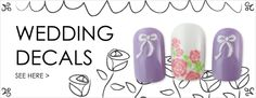 Browse our fun and funky nail art. Joby Nail Art's variety of nail art supplies add dimension to your rockin' nails. 3d Nail Art, 3d Nails, Nail Art Supplies, Nail Art Stickers, Wedding Nails, 3 D, Wedding Planning, Decals, Nail Polish