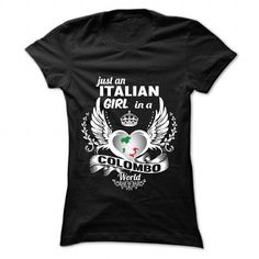 Living in COLOMBO with Italian roots - #appreciation gift #gift amor. WANT IT => https://www.sunfrog.com/LifeStyle/Living-in-COLOMBO-with-Italian-roots-Ladies.html?68278
