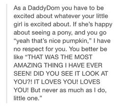 I wish I had a daddy who did thissss. I want a daddy who is woving and gets all excited wif me