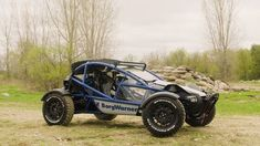 In the Ariel Nomad off-road buggy won our hearts. Now it's winning them again thanks to powertrain specialist BorgWarner, which has installed a high-voltage rear drive, making the Nomad a torque-vectoring adrenaline machine. Ariel Atom, Electric Motor, Electric Cars, Electric Vehicle, Volkswagen Golf, Maserati, Porsche 911, Ariel Nomad, Haute Tension