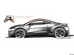 2012 Peugeot RCZ R Concept Wallpaper