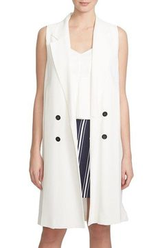 9dc576fe5c7 1.STATE Double Breasted Trench Vest available at  Nordstrom Double  Breasted