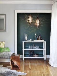 15 Ways to Decorate With Rich Peacock Blue | Color Palette and Schemes for Rooms in Your Home | HGTV >> http://www.hgtv.com/design/decorating/color/15-ways-to-decorate-with-rich-peacock-blue-pictures?soc=pinterest
