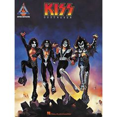 The Kiss - Destroyer songbook from Hal Leonard has all 9 songs transcribed note-for-note with guitar tablature. Released in 1976, Destroyer was KISS' first album to go platinum and ranks in Rolling Stone's 500 Greatest Albums of All Time. Gender: unisex.