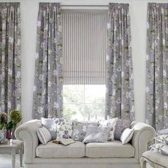 Accessories Living Room Curtains Ideas Gray Curtain Combination With White Sofa Wooden Finishing Floor Unique Desk Wall Paint Color