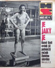 Karel Gott in swim trunks Gott Karel, Rest In Peace, Swim Trunks, Retro, Swimming, Celebrity, Passion, Album, Baseball Cards
