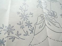 1940s Mail Order Transfer Pattern Embroidery by WildPlumTree, $6.00