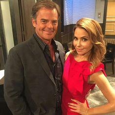 Wally Kurth (Ned Ashton) and Lisa LoCicero (Olivia Falconeri)