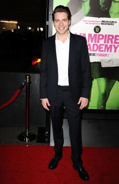 Dominic Sherwood at the 'Vampire Academy' Premiere