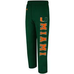 Miami+Hurricanes+Automatic+Fleece+Pants+-+Green