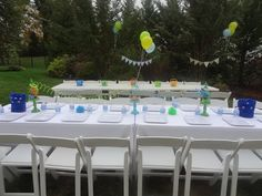 Monster Bash - Table Decor Scary Monsters, Monster Party, Outdoor Furniture Sets, Outdoor Decor, Table Decorations, Home Decor, Decoration Home, Room Decor, Home Interior Design