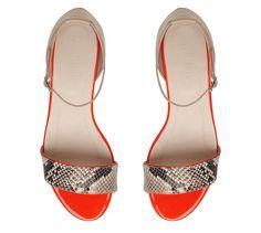 f78f2dfe0 Cecelia Snake Sandal by Witchery SS2013 Flat Shoes