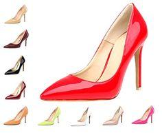 HooH Damen Pointed Toe Stiletto Abendschuhe Pumps 0017 - http://on-line-kaufen.de/hooh/hooh-damen-pointed-toe-stiletto-abendschuhe-0017