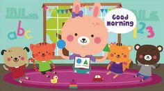 Preschool songs that make learning fun for children. Our circle time kids songs are the perfect combination of baby songs, toddler songs and nursery rhymes. Good Morning Lyrics, Morning Songs, Kindergarten Songs, Preschool Music, Abc Songs, Kids Songs, Alphabet Songs, Transition Songs For Preschool, Circle Time Songs